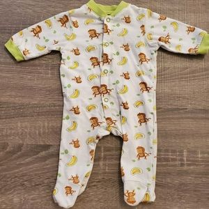 🧜 3 for 15$ 🧜 Monkey and banana pyjamas!